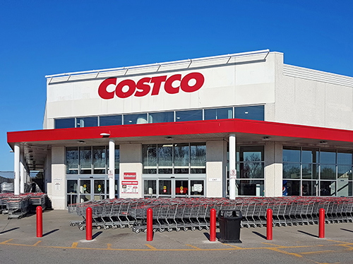Costco's stock rose as high as $248.26 per share last week, approaching an all-time high