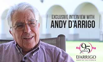 Exclusive Interview with Andy D'Arrigo, D'Arrigo Bros. Chairman Emeritus, on Beginnings and Success in the Industry