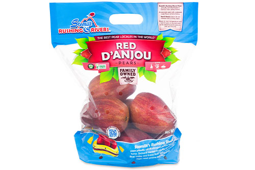 d'Anjou and Red d'Anjou's receive a 30-day treatment before being packaged up