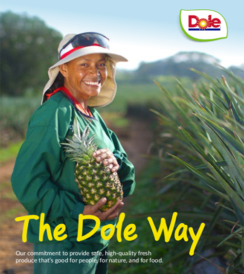 "Dole Food Company released its 2020 Corporate Responsibility and Sustainability Report, which outlines its sustainability framework, ""The Dole Way,"" along with the company's first-ever enterprise-wide sustainability goals"