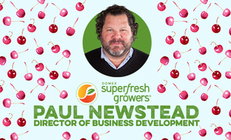 Domex Superfresh Growers' Paul Newstead Discusses Upcoming Cherry Season