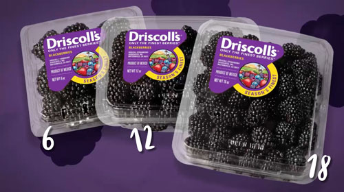 Driscoll's Showcases #FinestBlackberries in Exclusive What's In Store Video