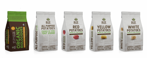 EarthFresh Foods recently announced its new, complete product line of organic and conventional potatoes packed in 100 percent compostable paper bags