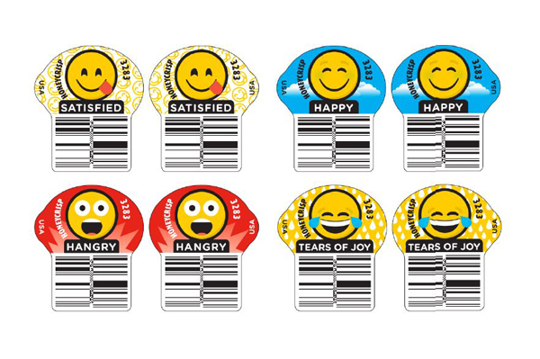 Honeybear® Brands has introduced new custom emoji PLU stickers to brighten up snack time