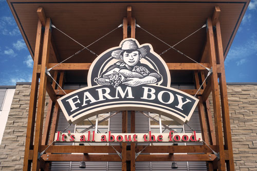 Sobeys' parent company will be acquiring privately-held and Ottawa-based grocer Farm Boy Inc.