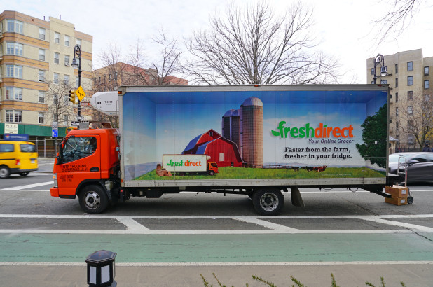 New York-based grocery delivery service FreshDirect recently hit a setback after a failed move for expansion. (Photo: nypost.com)