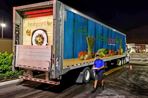 Sysco's specialty produce company FreshPoint has finished expanding its Central Florida facility