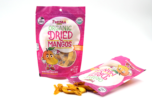 Freska specializes in more than just fresh mangos, with the addition of its Organic Dried Mangos