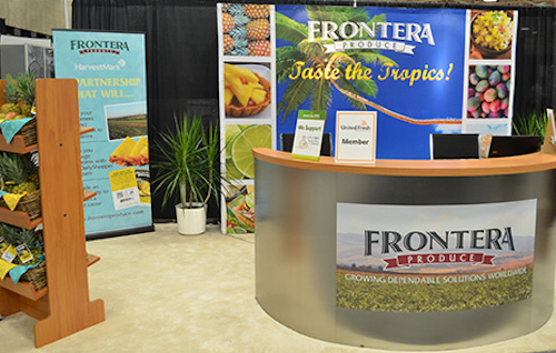 Frontera Produce tradeshow booth design by DMA Solutions