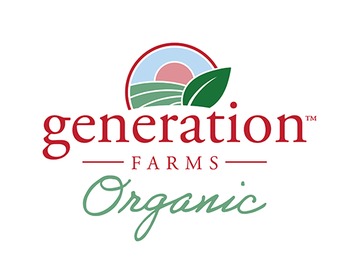 Generation Farms today unveiled an updated logo and branding, including a version that highlights organics