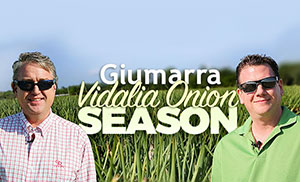Walt Dasher of G&R Farms and Scott Bennett of Jewel Osco Discuss Giumarra Companies' Partnerships, Vidalia Onions Season