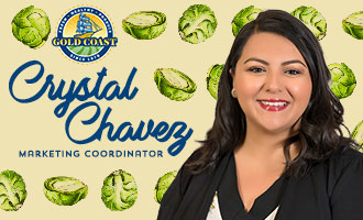 Gold Coast Packing's Crystal Chavez Discusses New Brussels Sprouts Items at PMA Foodservice 2019