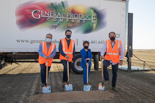 General Produce is partnering with Buzz Oates to build a brand-new, state-of-the-art refrigerated warehouse at Sacramento's Metro Air Park