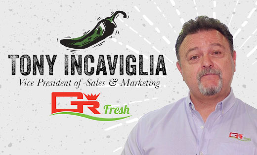 GR Fresh's Tony Incaviglia Discusses Hot Peppers and More at Viva Fresh 2019