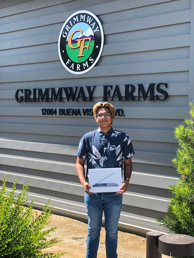 Named for Grimmway Farms' Founders, the program recognizes the superior academic performance of students who have a parent or guardian employed by the company
