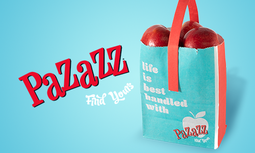 Pazazz™ apples, the proprietary variety from Honeybear® Brands, was recently selected as a favorite in a blind consumer taste test