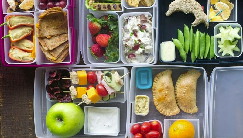 Healthy Lunchbox Inspirations