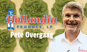 Hollandia CEO Pete Overgaag Talks Organic Living Lettuce