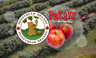 Honeybear Brands' Pazazz™ Apples Bring Explosive Crunch and Flavor to a Crowded Category
