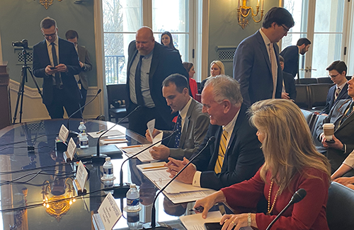 At a hearing held by the House Agriculture Subcommittee on Livestock and Foreign Agriculture, Brian Keavy testified to the importance of trading and building relationships with foreign markets