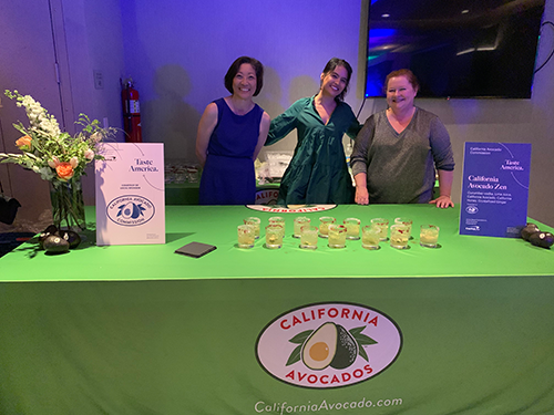 The California Avocado Commission represented how California avocados ramp up any foodservice operator's offerings
