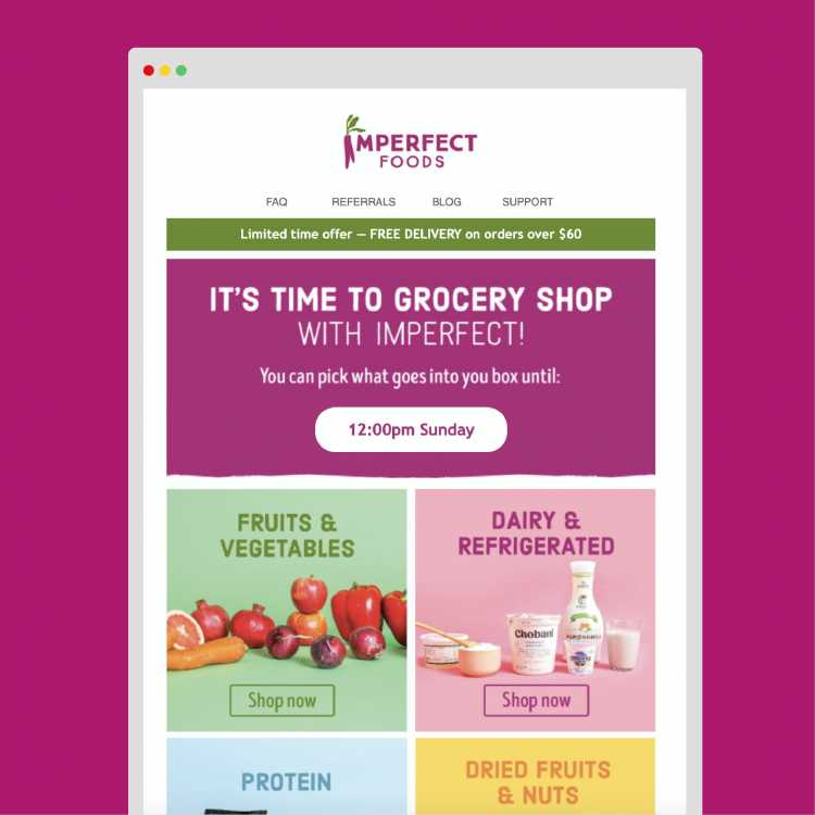 Imperfect Foods recently closed a Series C funding round of $72 million, which will fuel continued expansion of the service across the country