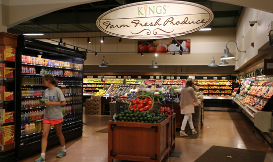 King's Market: Produce Section