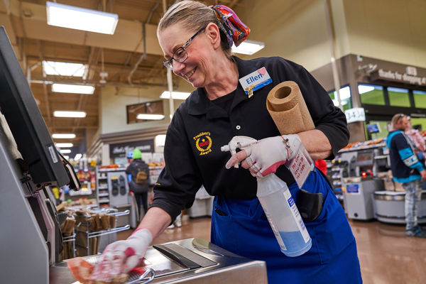With nearly 2,800 grocery stores, 35 manufacturing plants, 44 distribution centers, and 460,000 associates across the country, Kroger has learned a lot while keeping its stores and supply chain open