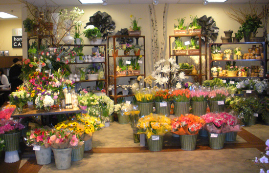 King's Market: Floral Section