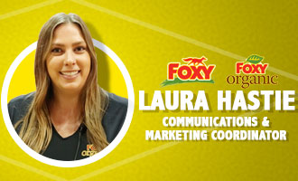 The Nunes Company's Laura Hastie Discusses Foxy Organic Baby Bok Choy; Mark Crossgrove Comments