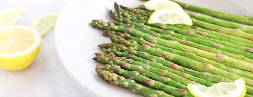 Grilled Lemon Asparagus