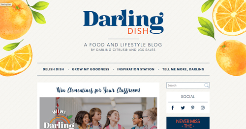 LGS Specialty Sales' new blog titled Darling Dish