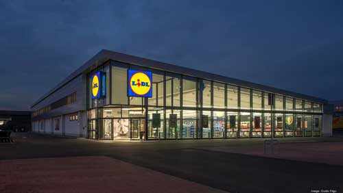Lidl is opening three new stores over the course of October and November