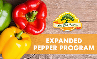 Behind the Greens: Live Oak Farms' Welcomes Expanded Pepper Program