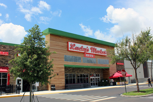 Lucky's Market will be opening a new, 120,000-square-foot central distribution center in Orlando, Florida, this fall