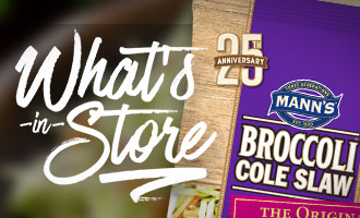 Mann Packing Reveals What's In Store for the 25th Anniversay of its Broccoli Slaw