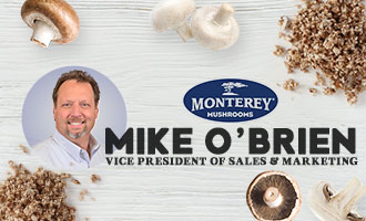 Monterey Mushrooms' Mike O'Brien Talks About The Trend to Blend