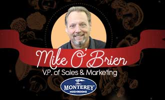 Monterey Mushroom's Mike O'Brien Discusses New Finely Diced Mushrooms for Foodservice Operators