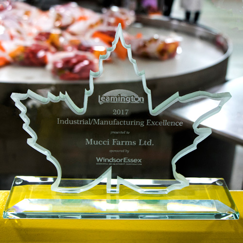Mucci Farms' 2017 Leamington Chamber of Commerce