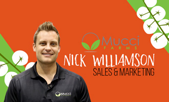 Mucci Farms' Nick Williamson Discusses New Facility, Tomato Offerings, and More