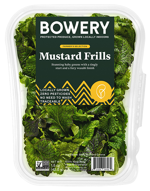 Bowery Farming has recently unveiled its new Farmer's Selection product category, which includes a line of rotating, small-batch, flavorful greens curated by its R&D team
