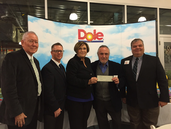 New England Produce Council's Anthony Sattler and Dole