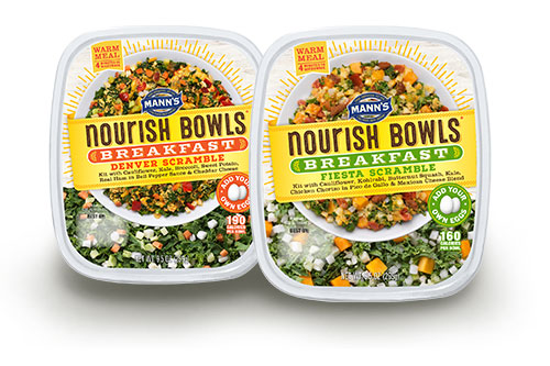 Mann Packing is introducing Nourish Bowls® Breakfast next week at PMA Fresh Summit