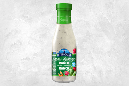 The new Organic Pourable Dressings feature a fresh new look and improved dairy-free formula