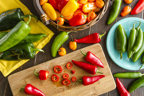 GR Fresh is receiving a lot of consumer interest in its hot peppers, with jalapeños ranking number one