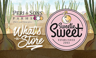 Peri & Sons Sweetie Sweet Onions Offer Premium and Organic Flavor in a New Package