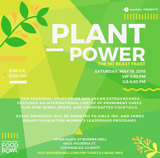 Plant Power: The No Beast Feast