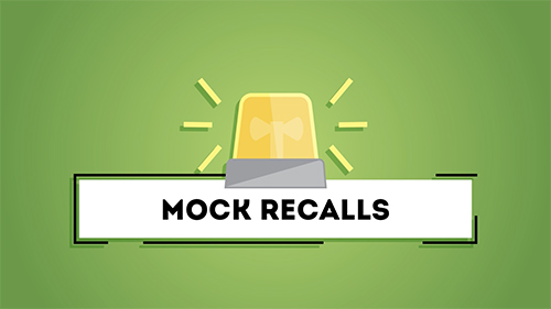 Use Produce Pro's Entry Recall Software to run mock-recalls