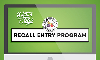 Produce Pro's Recall Entry Software Makes Managing Recall Painless