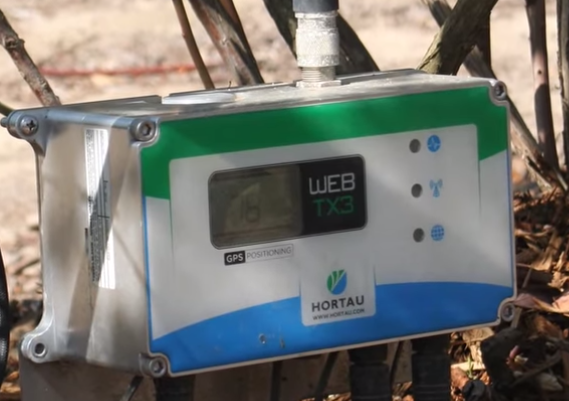 Hortau's soil tension monitoring system